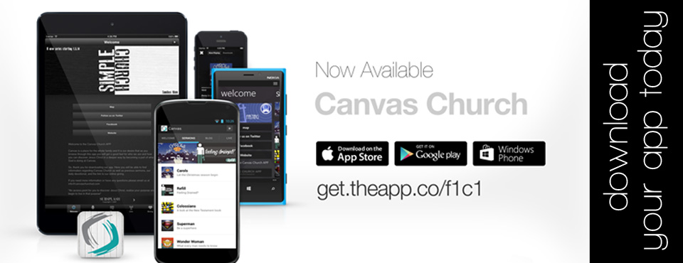 Canvas Church App Is Here!